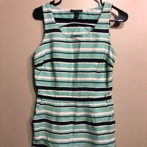 Tommy Hilfiger blue stripped business dress